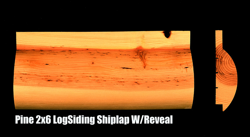 Hills products group pattern lumber for 2x6 log siding
